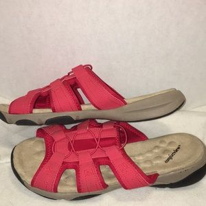 Comfortview size 12 WW (extra wide) coral sandal